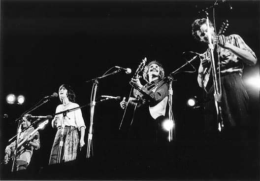 Stringband at the Winnipeg Folk Festival 1982